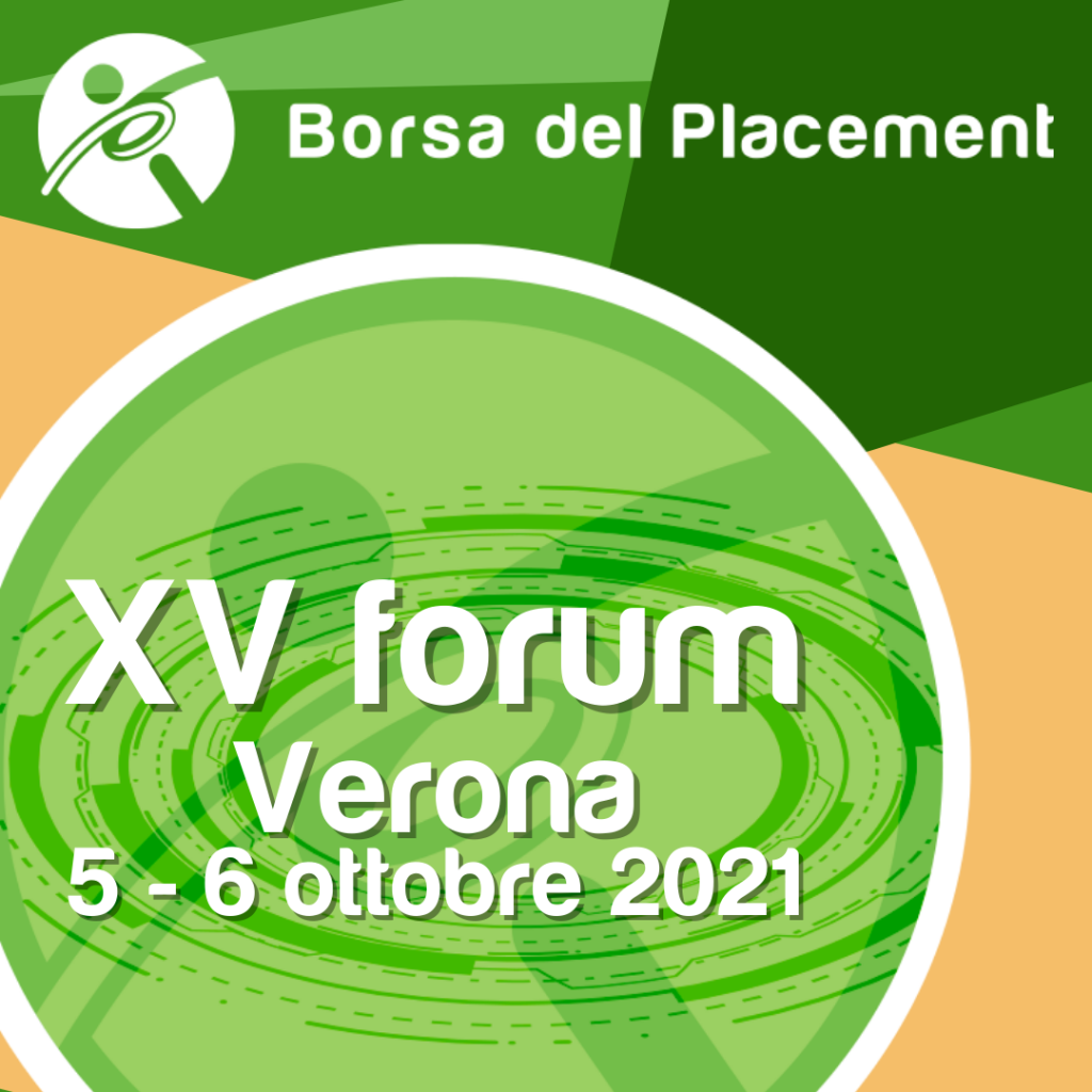 Borsa del Placement | XV forum | Verona