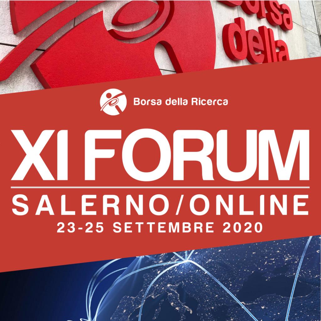 Borsa della Ricerca   XI forum   Salerno/online