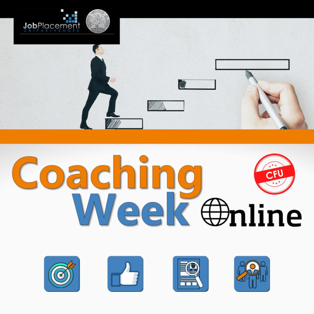 Coaching Week | Career HUB | UniParthenope