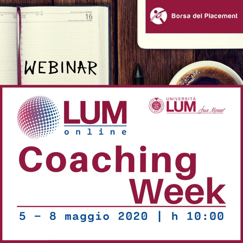 LOL - LUM On Line   Coaching Week