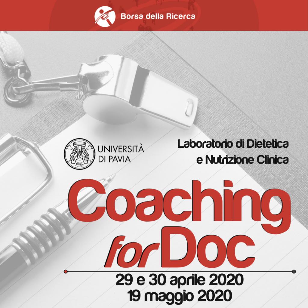 Coaching forDoc   Università degli Studi di Pavia