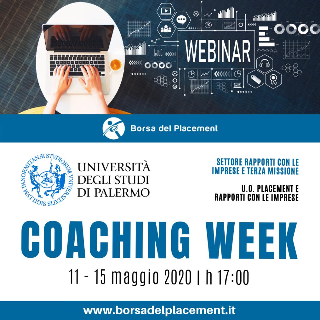 Coaching Week   Università degli Studi di Palermo