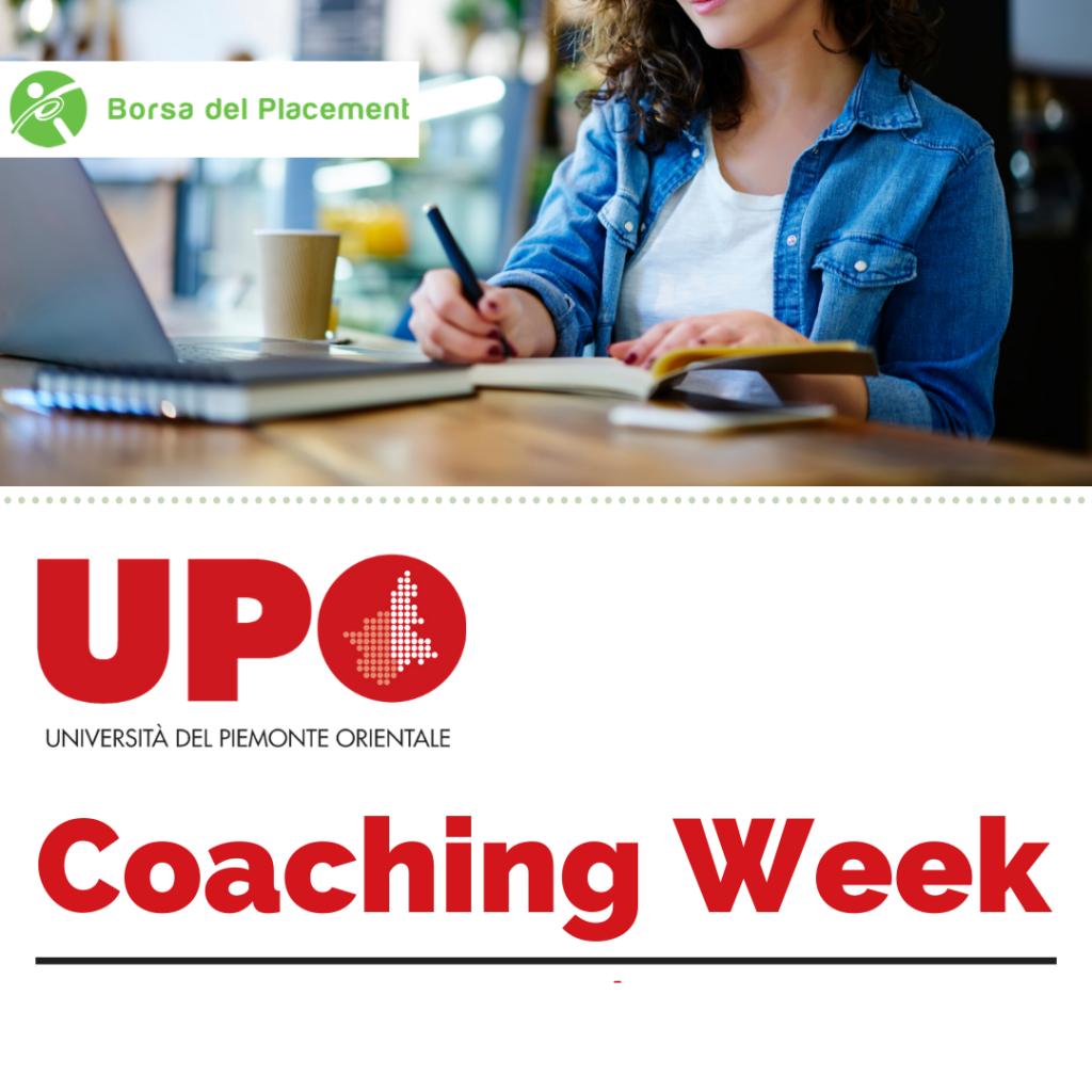Coaching Week   Università del Piemonte Orientale