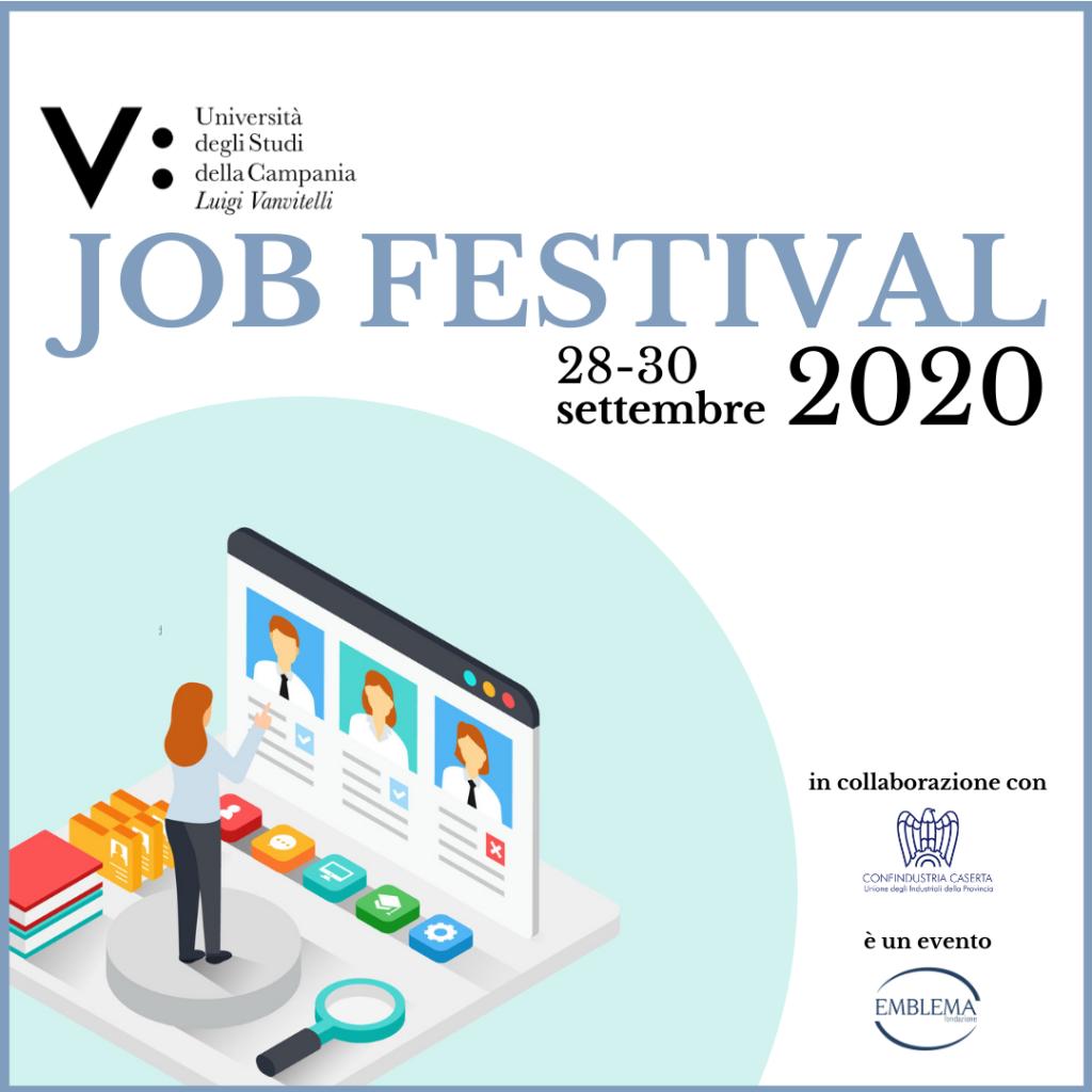 Job Festival 2020   Università della Campania L. Vanvitelli