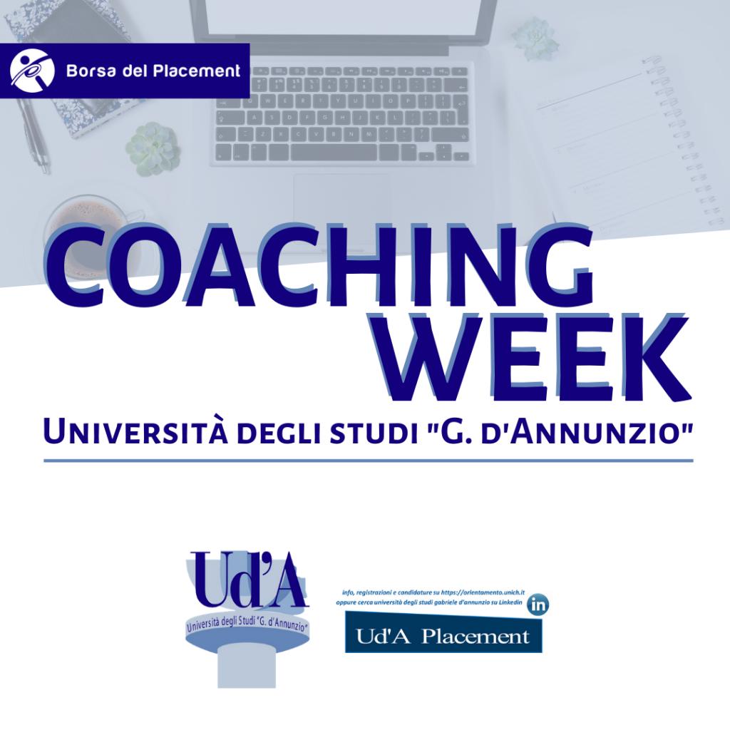 Coaching Week   Università degli Studi