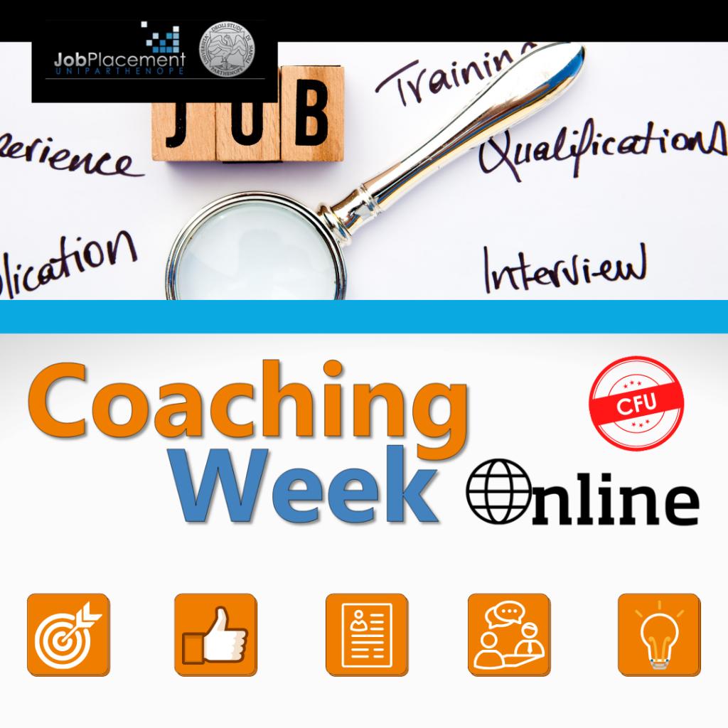 Coaching Week   Career HUB   UniParthenope
