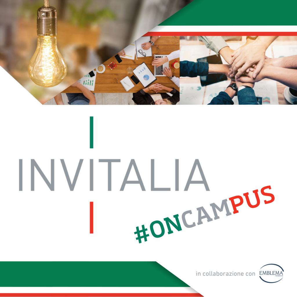 Invitalia #oncampus