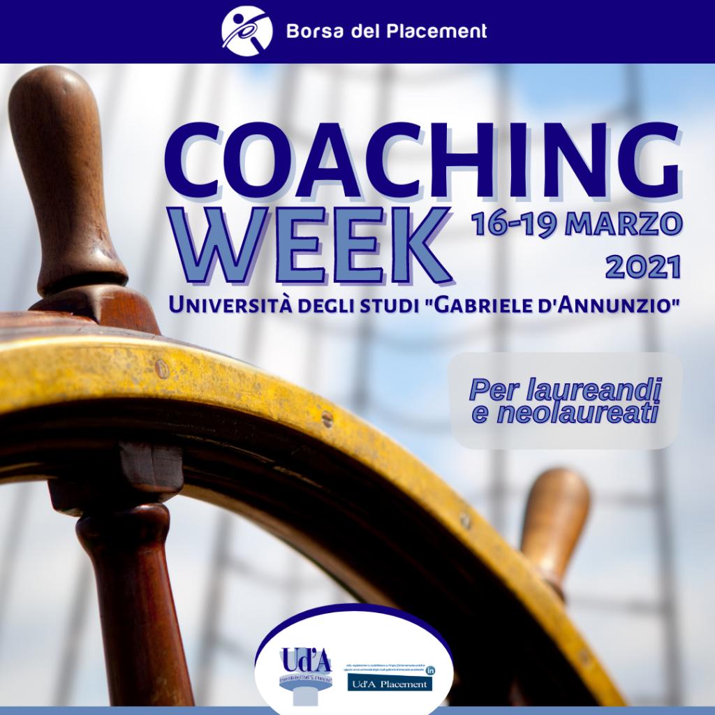 Coaching Week   Università degli Studi 'G. d'Annunzio'