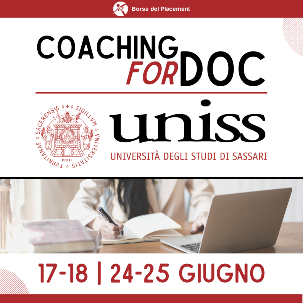 Coaching forDoc   Università degli Studi di Sassari