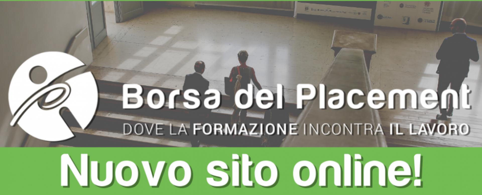 28.07.2020 - Siamo online! Nuovo sito della Borsa del Placement