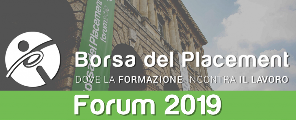 03.09.2019 - Borsa del Placement | XIII Forum