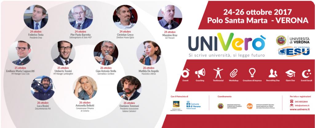 28.10.2017 - Univerò 2017   Il festival del placement