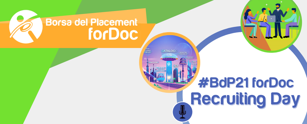 22.03.2021 - Borsa del Placement | forDoc | Recruiting Days