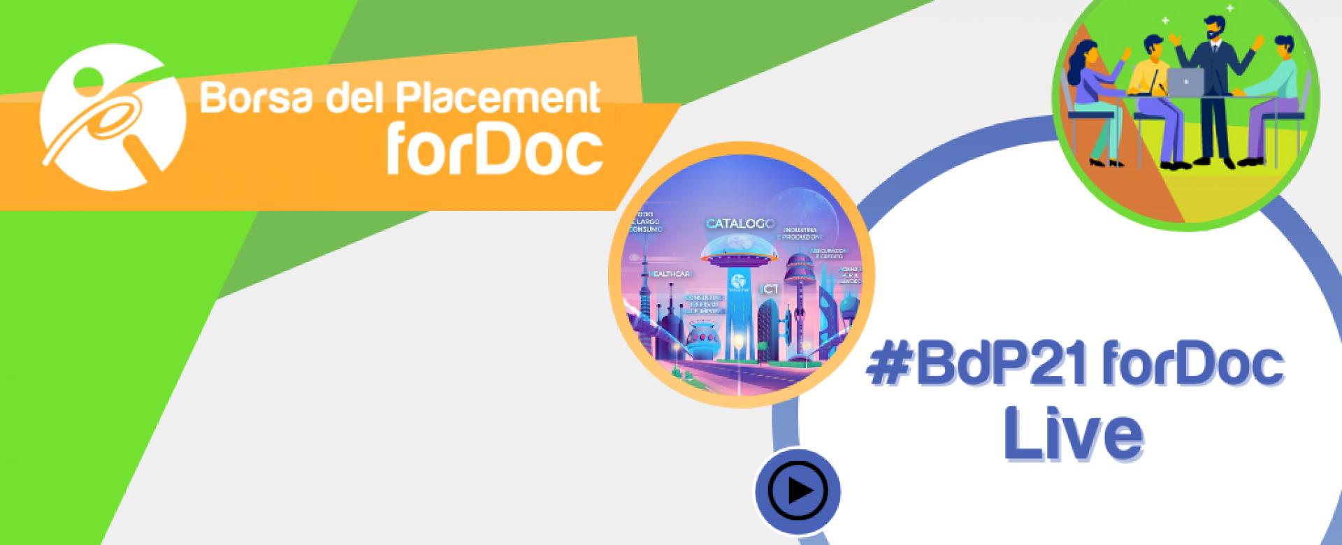 13.05.2021 - Borsa del Placement | forDoc | Live