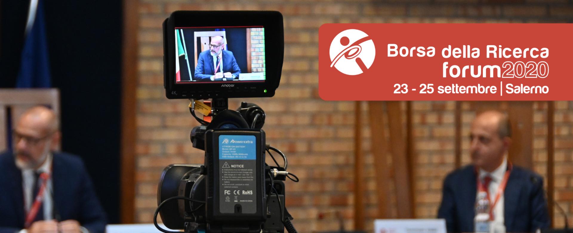 26.09.2020 - Borsa della Ricerca | XI forum | Salerno/online