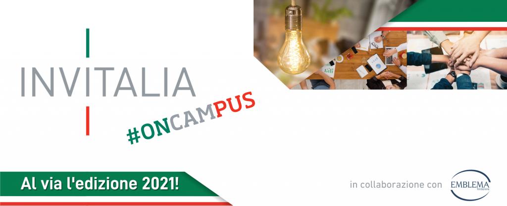 11.05.2021 - Torna Invitalia #onCampus!